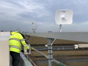 WiFi bridge with 4G broadband